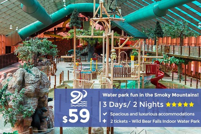 Water Park Adventure in the Great Smoky Mountains | From $59