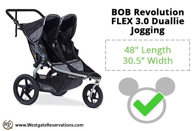 BOB Revolution FLEX 3.0 Duallie Jogging
