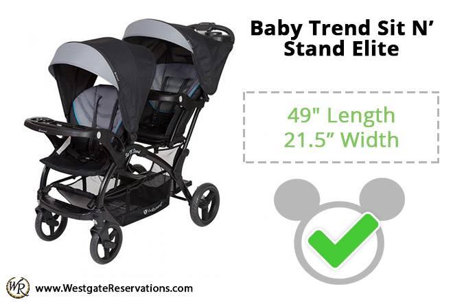 Baby Trend Sit N' Stand Elite