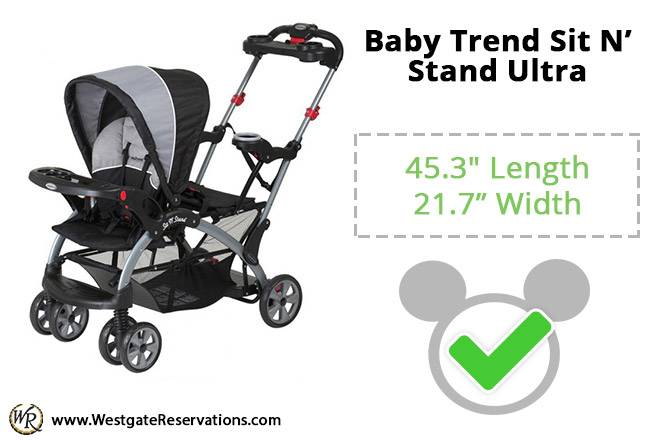 Baby Trend Sit N' Stand Ultra