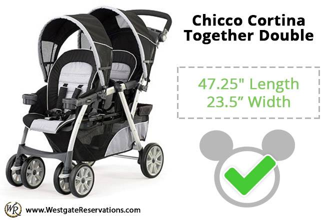 Chicco Cortina Together Double
