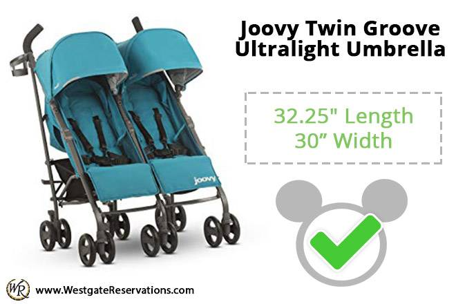 Joovy Twin Groove Ultralight Umbrella