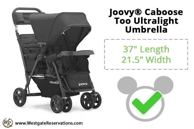 Joovy Caboose Too Ultralight Umbrella