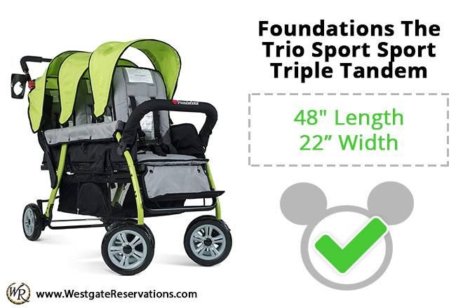 Foundations The Trio Sport Sport Triple Tandem