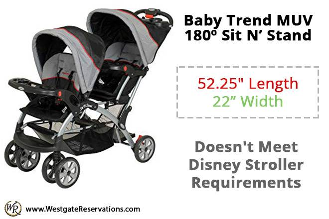 Baby Trend MUV 180 Sit N' Stand