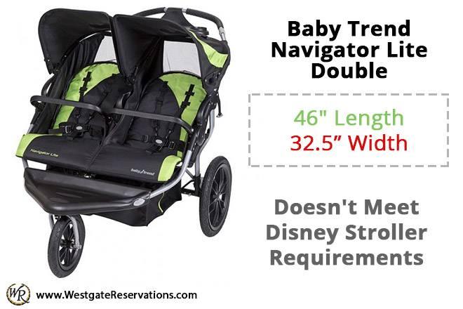 Baby Trend Navigator Lite Double