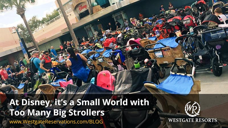 At Disney, it's a Small World with Too Many Big Strollers