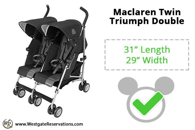 Maclaren Twin Triumph Double