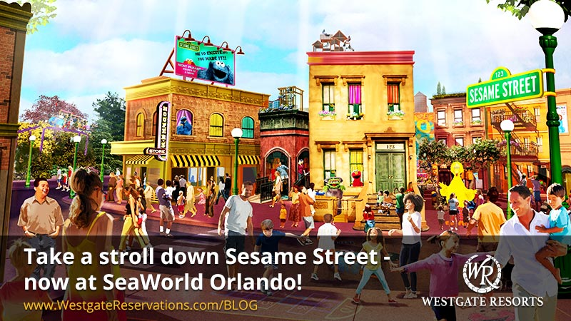 Take a stroll down Sesame Street - now at SeaWorld Orlando