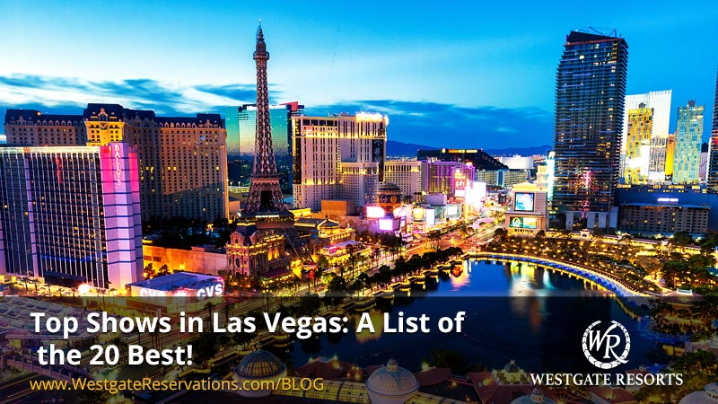 Top Shows in Las Vegas: A List of the 20 Best!