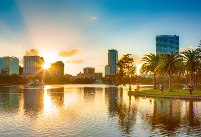 Lake Eola in Downtown Orlando | Orlando Map from Westgate Reservations