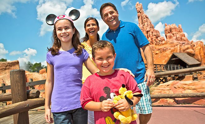 Disney family Orlando Vacations