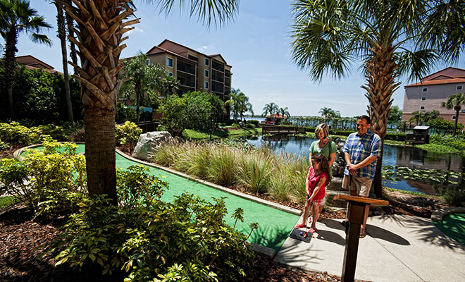Mini Golf at our Resorts