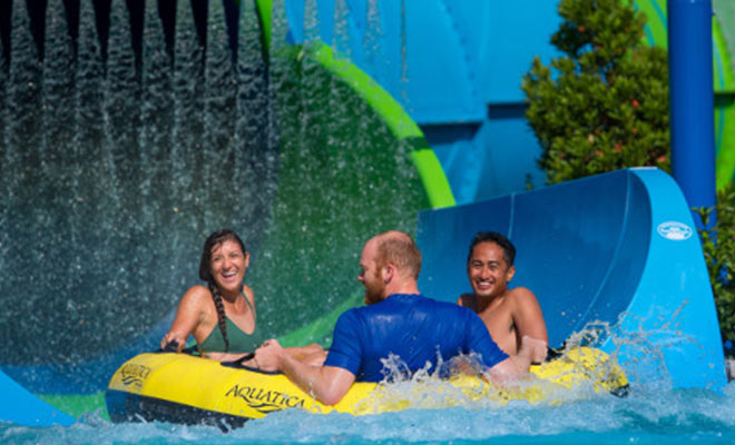 Aquatica Water slide