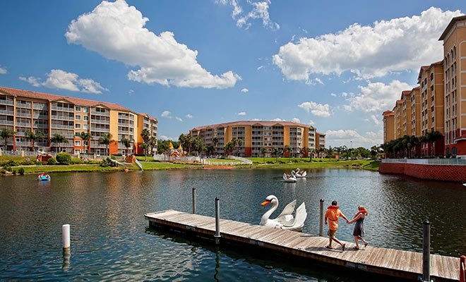 Orlando Swanboat Vacation