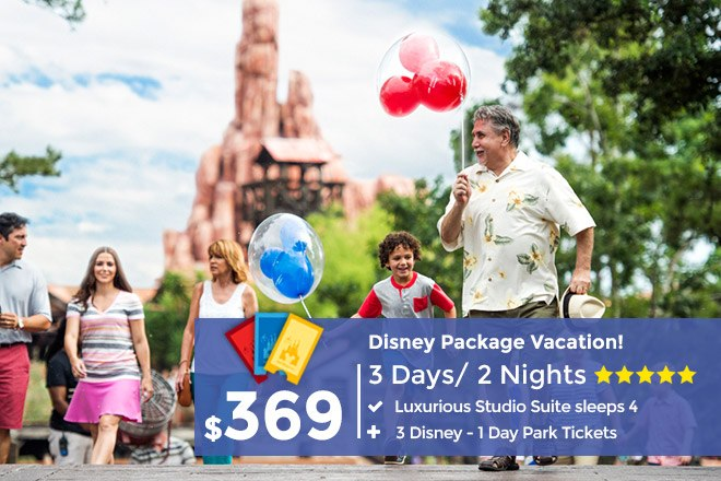 Disney Vacation Packages Resort Packages Include Discount Tickets - Disney family packages