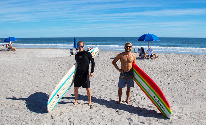 Surfing at Cocoa Beach | Cocoa Beach Vacations