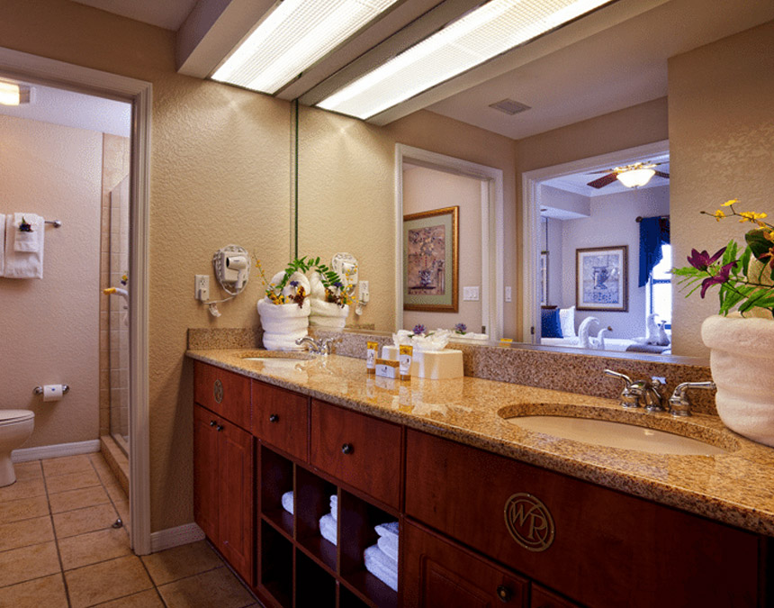 westgate palace resort two bedroom deluxe accessible bathroom