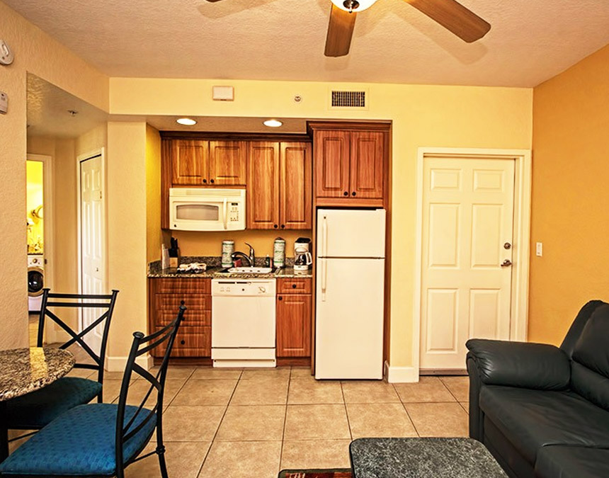 westgate town center one bedroom accessible villa kitchen