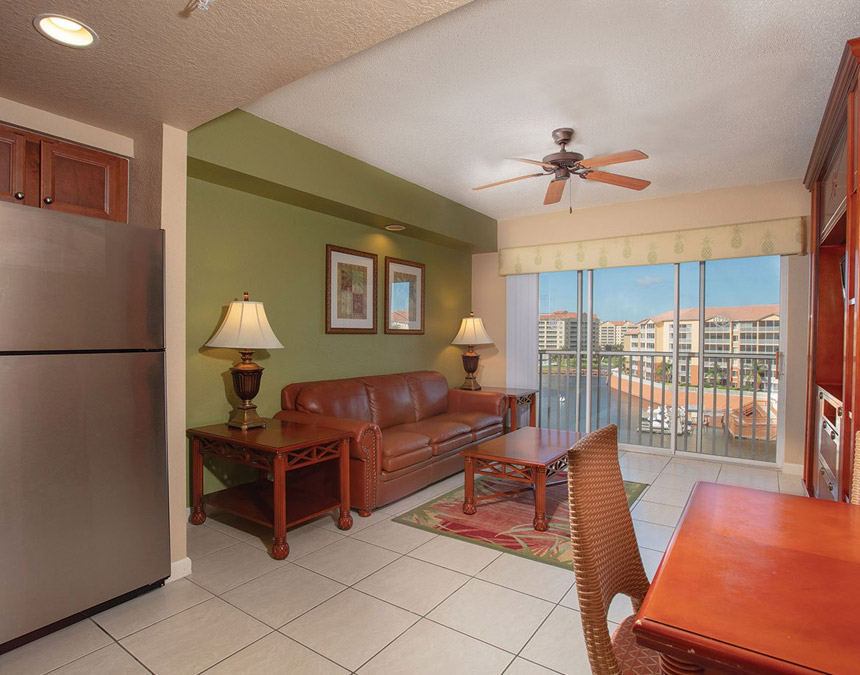 westgate town center one bedroom accessible villa living room