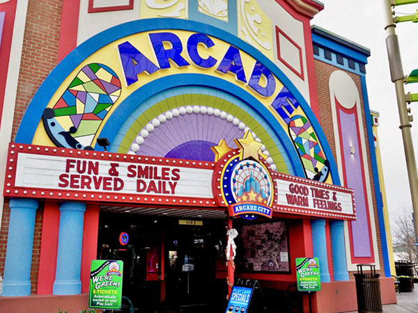 Arcade City | Things to Do in Gatlinburg | Gatlinburg Do List