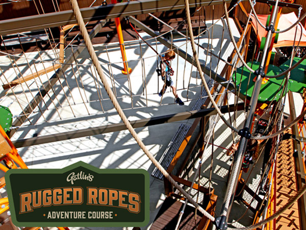 Gatlins Rugged Ropes Adventure | Things to Do in Gatlinburg | Gatlinburg Do List