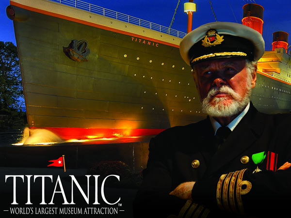 Titanic Museum Attraction | Things to Do in Gatlinburg | Gatlinburg Do List