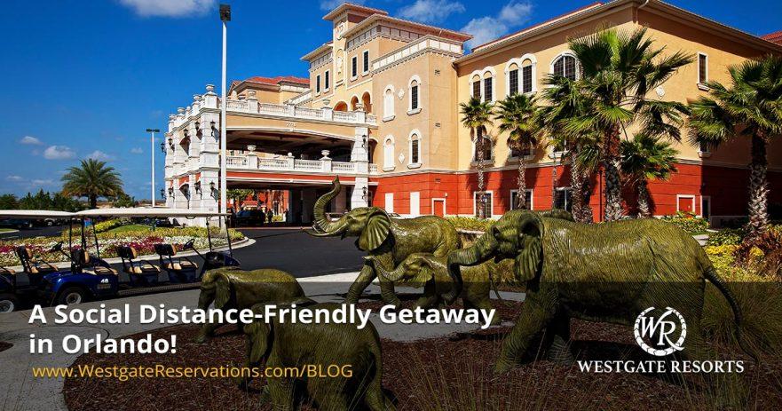 A Social Distance Friendly Getaway in Orlando
