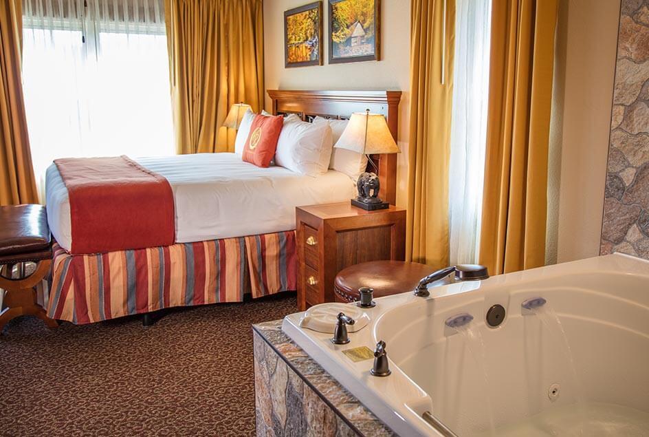 Jacuzzi - Villa de Dos Habitaciones en Westgate Smoky Mountain Resort