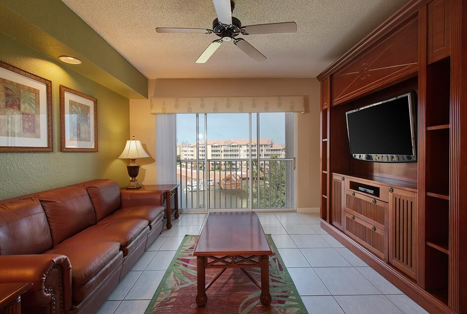 Living Room - Studio Deluxe at Westgate Town Center Resort