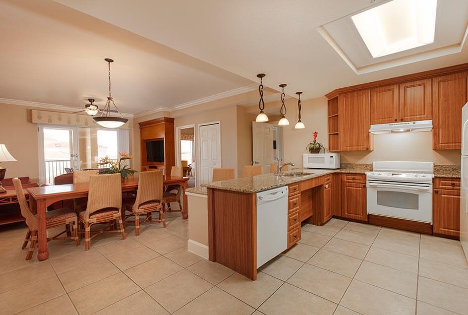 Kitchen - Two Bedroom Villa at Westgate Town Center Resort