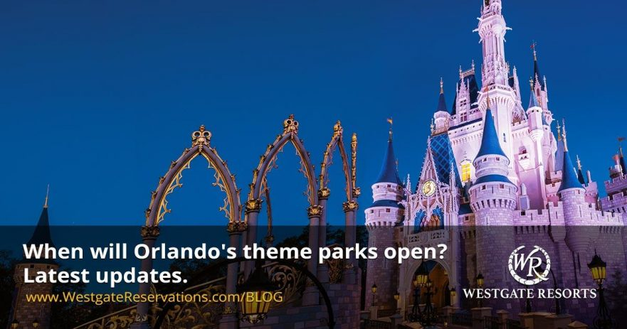 When will Orlando's theme parks open? Latest updates.