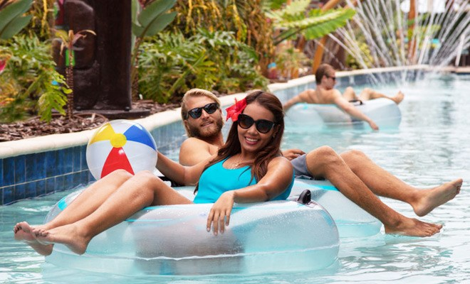 Lazy river wakulla suites cocoa beach