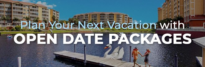 Open Date Vacation Deals