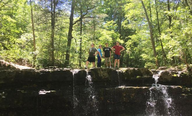 Branson Woods Hiking