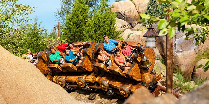 Magic Kingdom - Big Thunder Mountain Railroad Attraction