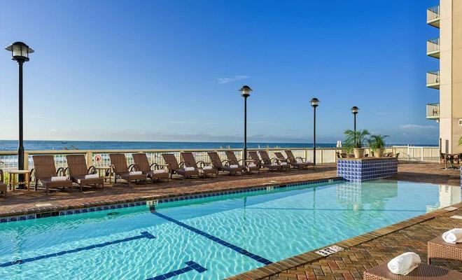 Myrtle Beach Oceanfront Pool
