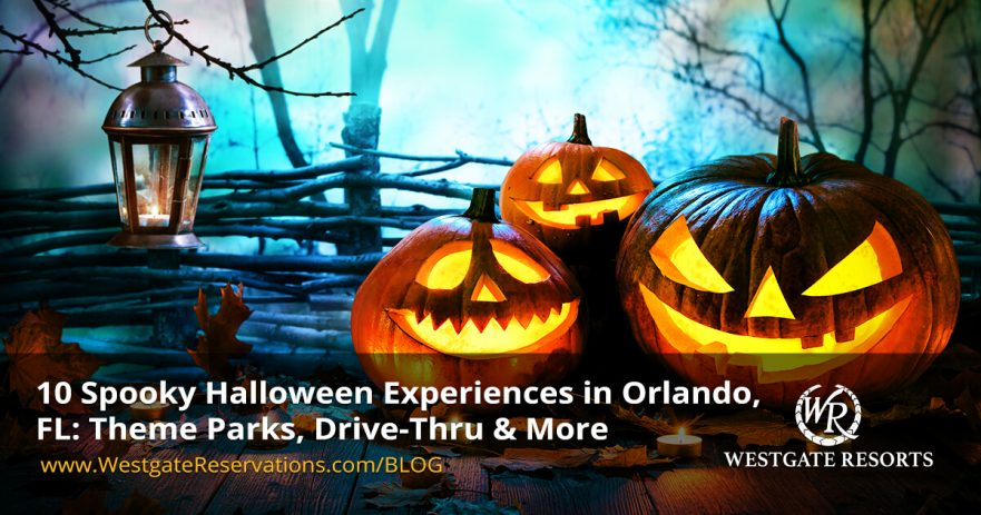 10 Spooky Halloween Experiences in Orlando, FL: Theme Parks, Drive-Thru & More