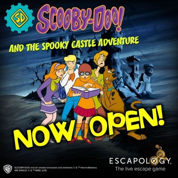 Escapology Scooby Doo and the Spooky Castle Adventure