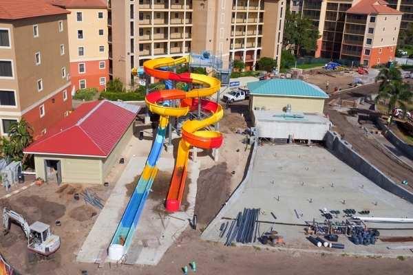 Treasure Cove Water Park Construction Attractions