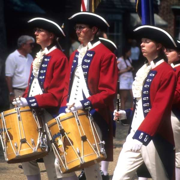 Colonial Williamsburg Drums Corp
