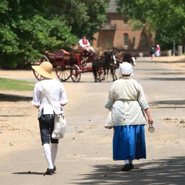 Colonial Williamsburg Tour - People
