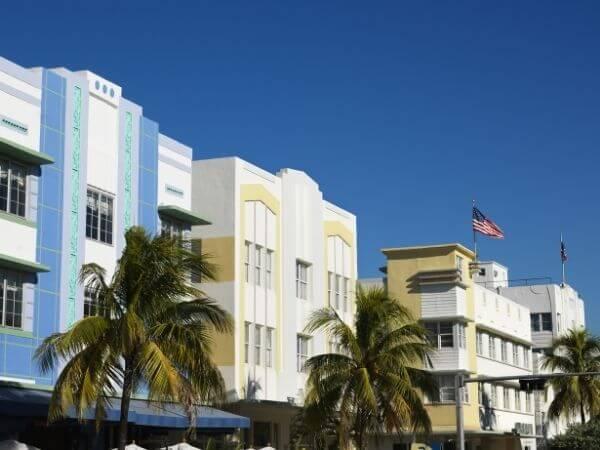 Art Deco District Miami FL