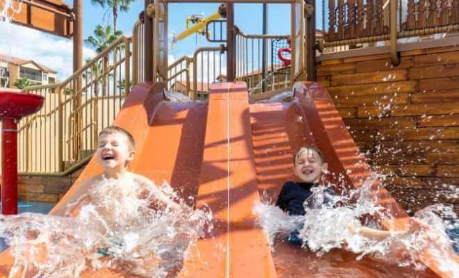 Treasure Cove Water Park Slides