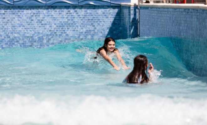 Treasure Cove Water Park Wave Pool